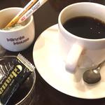 ハピネス - アフターのコーヒー    チョコのサービス♡