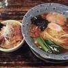 らーめん くじら軒 - 料理写真:支那そばとミニくじら飯(750円+200円)