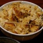花水木 - ごぼうの炊き込みご飯