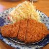 鶴亀 - 料理写真:ロースとんかつアップ〜♪( ´θ.`)ノ