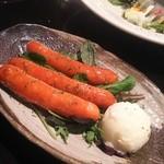 Cafe & Dining SOLA - 本気のチョリソー かなり辛いチョリソー。本気です。添えられたマッシュポテトが和らげてくれます。