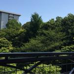 スラッシュカフェ - テラスからの眺め(´∀`*)