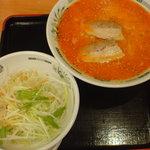 日高屋 - ピリ辛とんこつネギラーメン