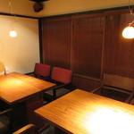 きんぎょ - 奥まって細長く雰囲気の好い居酒屋3