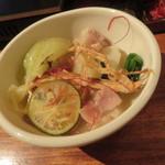 きんぎょ - もつ鍋(九州味噌)3