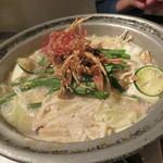 きんぎょ - もつ鍋(九州味噌)2