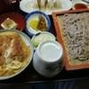 よしの そば店 - 料理写真:もり蕎麦セット(ミニカツ丼付)