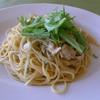 ピエトロ・コルテ - 料理写真:チキンと水菜のペペロンチーノ(チョイスセット)