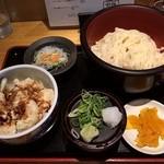 釜あげうどん はつとみ - 【2016/5】小えび天丼定食(もり)
