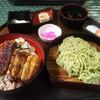 うなぎ 大和田 - 料理写真:うな丼と茶ざる定食