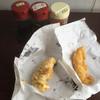 中本鮮魚店 - 料理写真:いかの天ぷら65円とグルクンの天ぷら120円