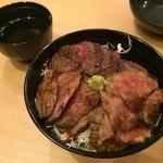 ニクゼン - ステーキ丼 850円