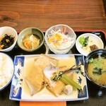 但馬かまどめし 気比の里 - 料理写真:煮魚定食 900円