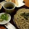 蕎菜 - 料理写真:『天ざる蕎麦』¥1258-