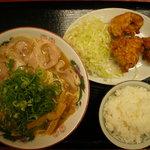 恵比朱 - 唐揚げ定食