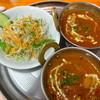 インドキッチン - 料理写真:チキンカレー、野菜カレー、サラダ