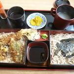 伊佐美屋 そば処 - 料理写真:天重セット 2016.5月