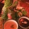 ペパーミントカフェ   - 料理写真:生春巻き。