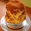がるる氷 - 料理写真:ドリップ珈琲のティラミス