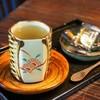 木古里 - ドリンク写真:昆布茶(おかき付き)