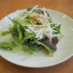 ダイニングキノシタ - 期間限定セットのサラダ