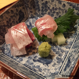 芝濱 - 料理写真:鯛の造り