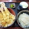 そば処あさり - 料理写真:特上天丼セット 2016.5月