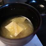 十月亭 - お味噌汁