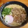 うどん 高松屋 - 料理写真:肉うどん 2016.4