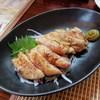 ぽっぽ - 料理写真:半生地鶏焼き 醤油