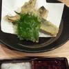 やきとり 山長 - 料理写真:「季節限定一推しメニュー」から 鰯の天ぷら 梅ソース 390円