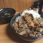 復活!カルピ丼 - 定番 カルピ丼 630円