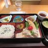 カフェ ハルキ - 料理写真:暫く待つと注文した季節のお弁当1296円が出来あがってテーブルに運ばれてきました