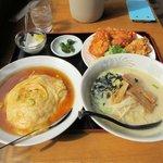 龍華 - 料理写真:ラーメン定食2016.05.08