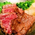 田舎 - 神戸特選牛のあぶりポン酢
