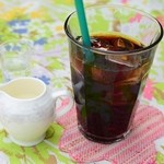 カフェ ド マンマ - アイスコーヒー