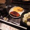 甘党まえだ - 料理写真:ボキらが注文したのは、 美味しさギュっセット Petitうずら(ドリンク付)750円。 ドリンクはアイスコーヒーにしたよ。