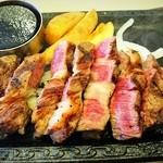 ステーキガスト - 料理写真:国産牛ロースステーキ