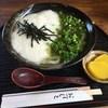 手打ちうどんZ - 料理写真:「トロロとトロ昆布」800円