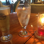 ザ・オレンジ - 生ビールとジンジャーエール