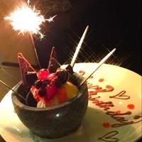 ◆誕生日・記念日はお任せ下さい!◆特製デザートでお祝いします