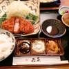 とんかつ若菜 - 料理写真:鹿児島県産黒豚ロースカツ御膳