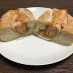デリカフェキッチン - ぷりぷり海老カツサンド
