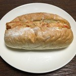 デリカフェキッチン - ぷりぷり海老カツサンド 260円(税込)