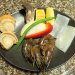 焼肉 金牛 - シーフード(1,400円)