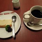 バッカ - 料理写真:自然派ランチセット デザートとコーヒー
