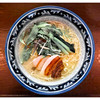 鶏骨スープ 青桐