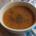 iSTANBUL NazaR - ランチのスープ