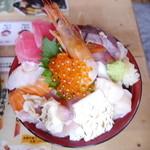 おかせい - 女川丼・大盛り(1600円)