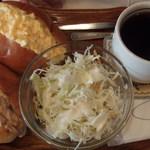 名曲・珈琲 新宿 らんぶる - (2016/04/16)卵とツナのサンドセット